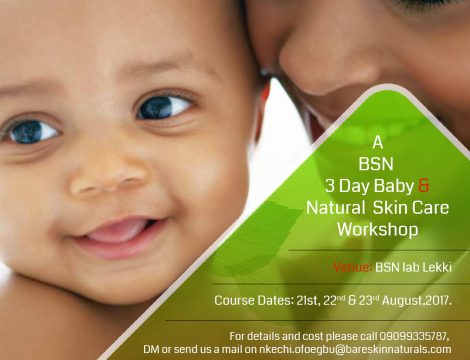 Formula Botanica,, Natural Baby and Facial Skin care Workshop