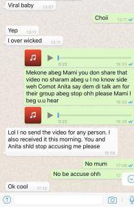 Conversation between Mekone and Slimmix