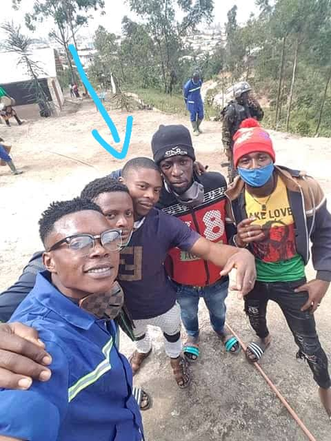He was at DDR Center Bamenda
