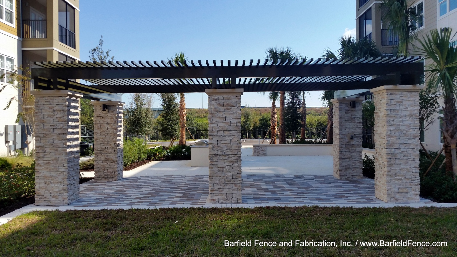 Arbors, Pergolas, and Trellises - Barfield Fence and Fabrication