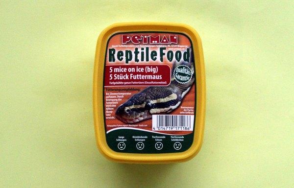 Futtermäuse für Reptilien
