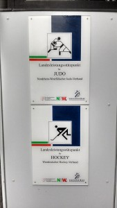 Der Olympiastützpunkt für Judo und Hockey