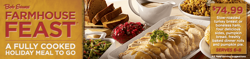 Bob Evans Farmhouse Feast Fully Cooked Meal To Go