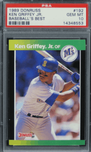 Ken Jr. Donruss Baseball's Best