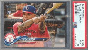 willie calhoun rookie cards