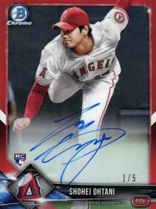Shohei Ohtani Rookie Card (Bowman Chrome Pitcher)