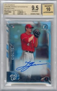 2016 Bowman Chrome