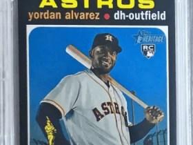 2020 Topps Heritage Yordan Alvarez Rookie Card