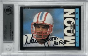 Warren Moon Rookie Card 1985 Topps