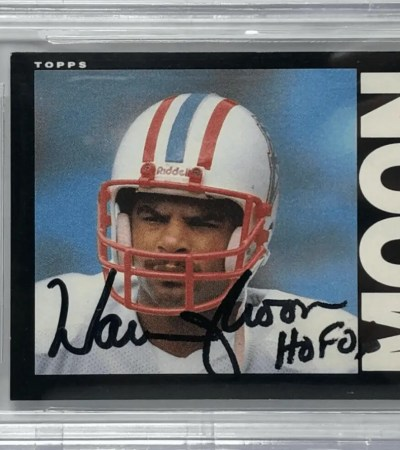 Warren Moon Rookie Card 1985 Topps