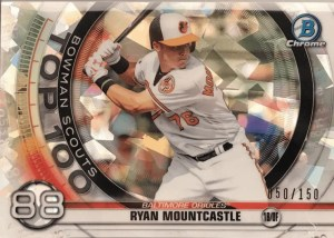 Ryan Mountcastle rookie card Bowman Scouts