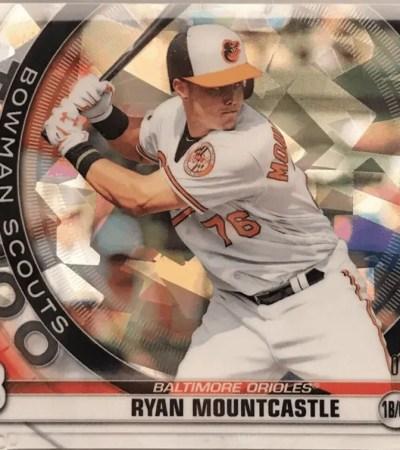 Ryan Mountcastle rookie card Bowman Scouts