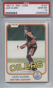 Most Valuable Hockey Cards from the 80s: Kurri