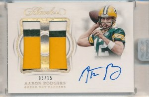 Most valuable aaron rodgers panini card