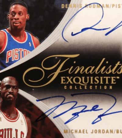 Dennis Rodman Michael Jordan