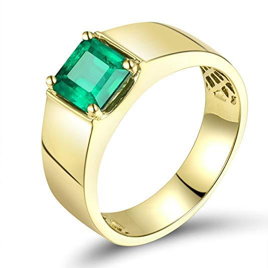 Engagement Ring 14K Yellow Gold