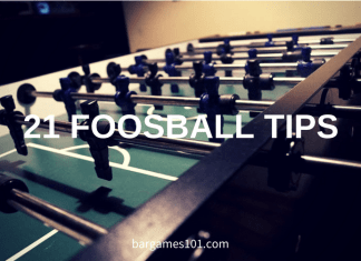 21 Foosball Tips & Techniques