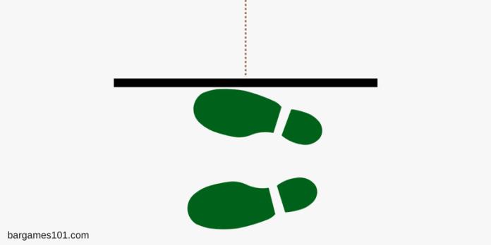 Dart Feet Placement Parallel