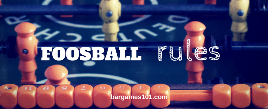 Foosball Rules: An Introduction to the Beautiful Game of Table Soccer