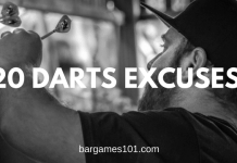 20 Darts Excuses