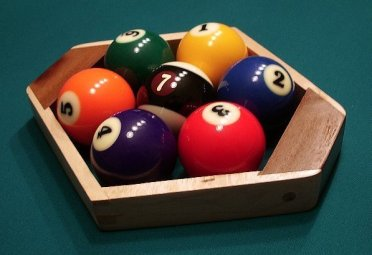 Seven Ball Pool Rack