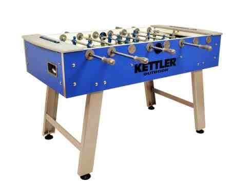 Kettler Weatherproof Indoor/Outdoor Foosball Table
