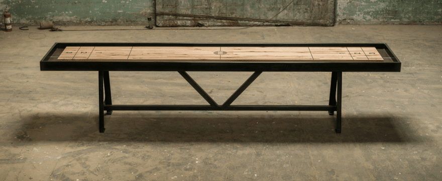 Handmade Shuffleboard Tables: Beautiful Craftsmanship in Action