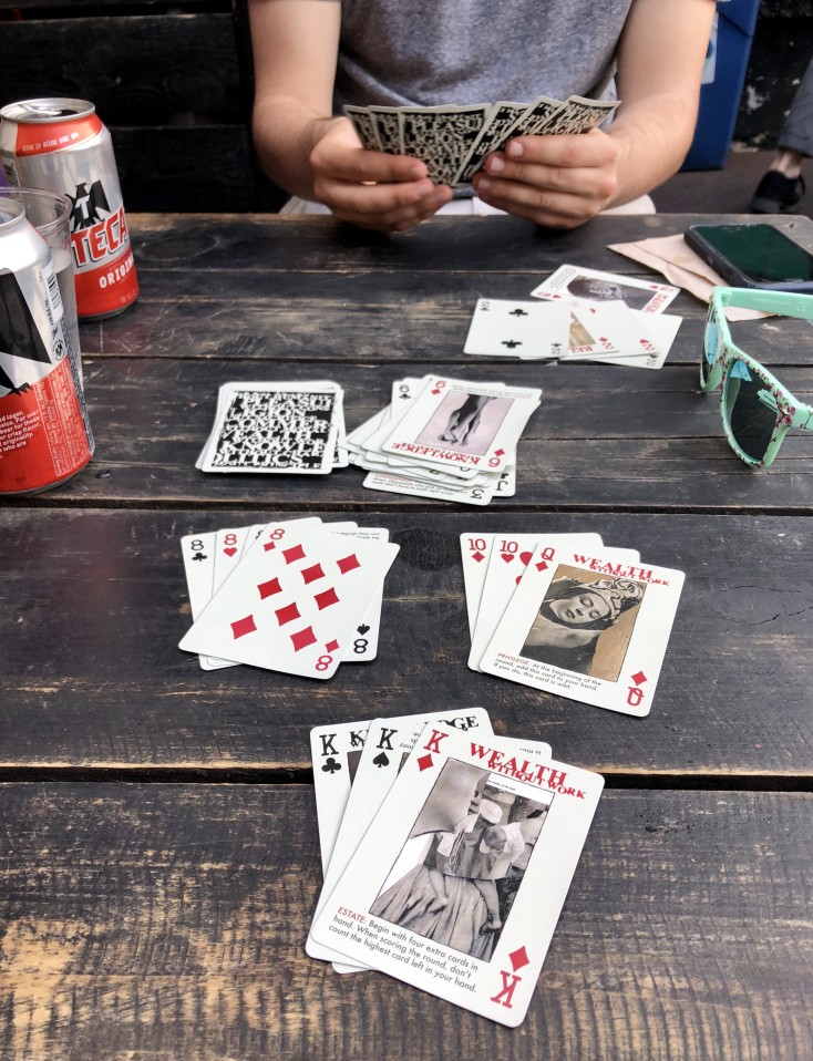 Gin Rummy 2 Player Card Game