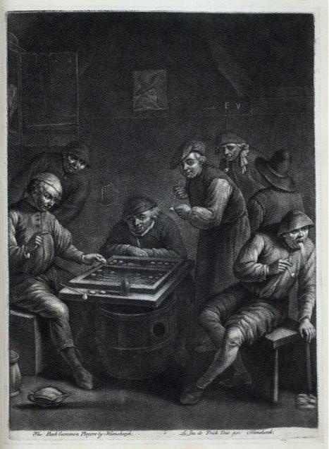 Ye Old Game of Backgammon