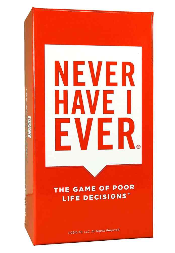 Never Have I Ever - Card Game