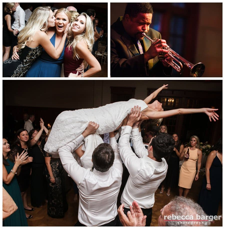 Any bride that crowd surfs at her very own wedding, is my kinda bride!!