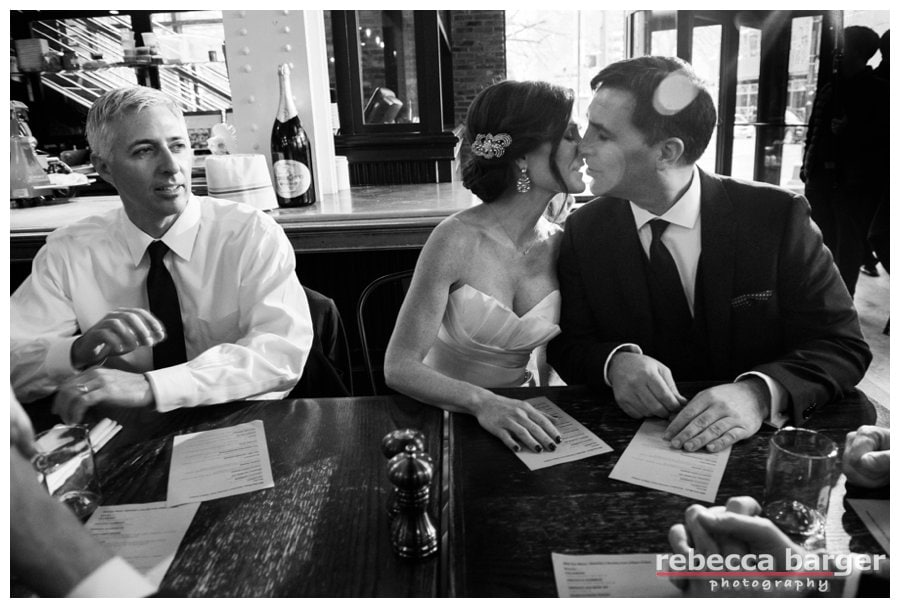 A quick break during the day, getting ready for ceremony - Rebecca Barger Photography.