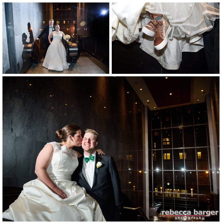 Lowes Hotel, where they met in 2012, was the perfect wedding venue for Kiera and Mark.