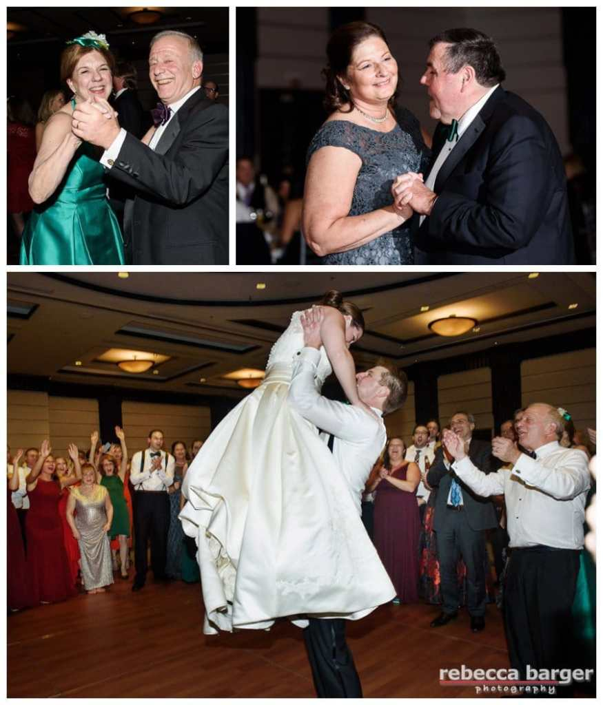 Dancing the night away celebrating Kiera and Mark's wedding. Thank you so much for the honor of being your photographer, Rebecca Barger Photography.