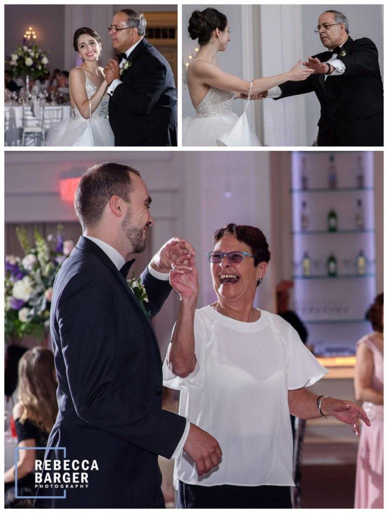Parent dances!