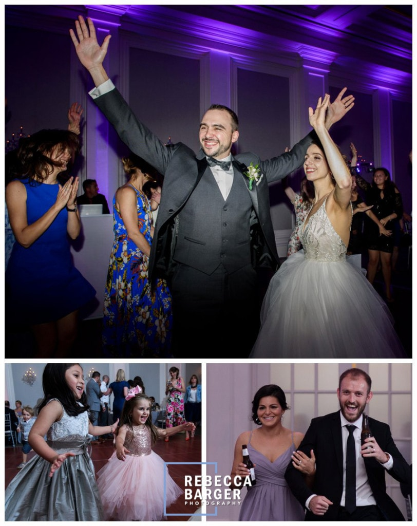 Reception fun, entertainment by Wired Up Entertainment.