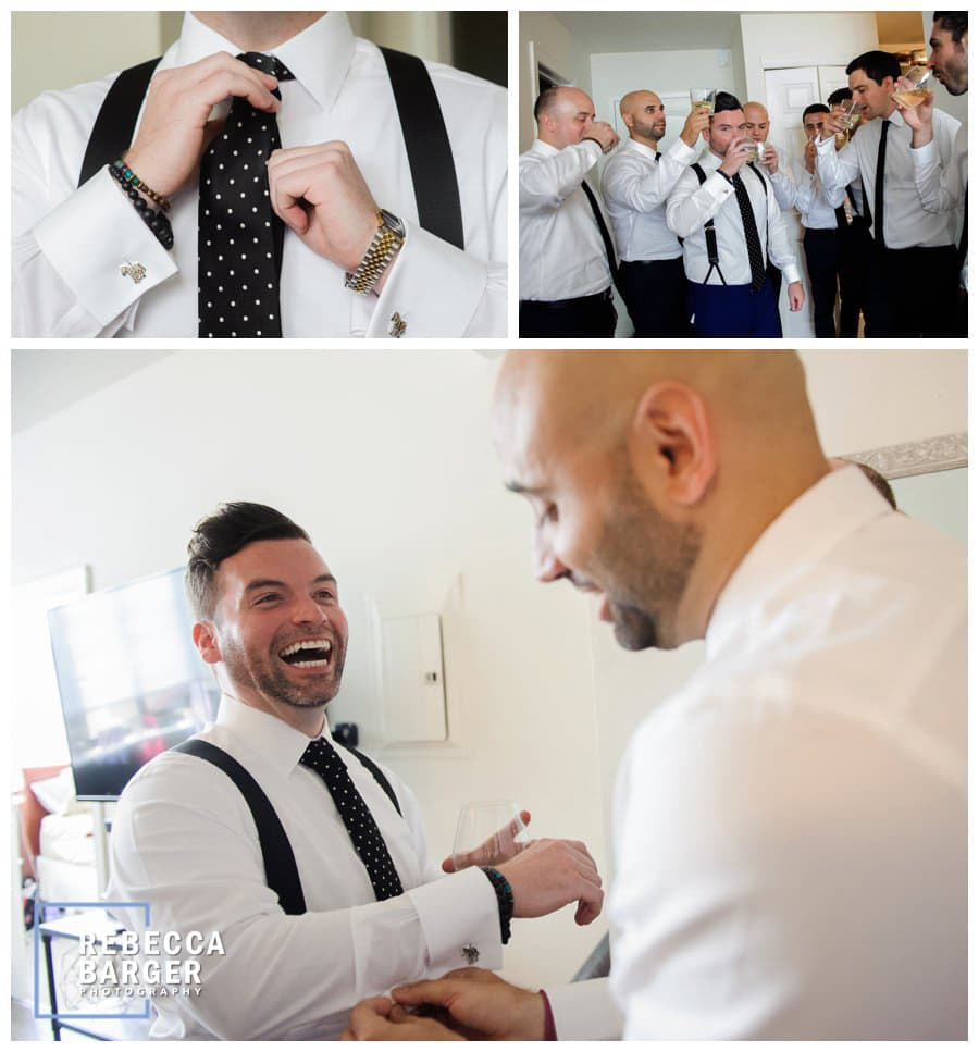 Michael prepares for his wedding day.