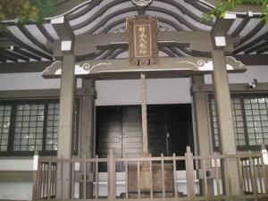 柿本神社の本殿