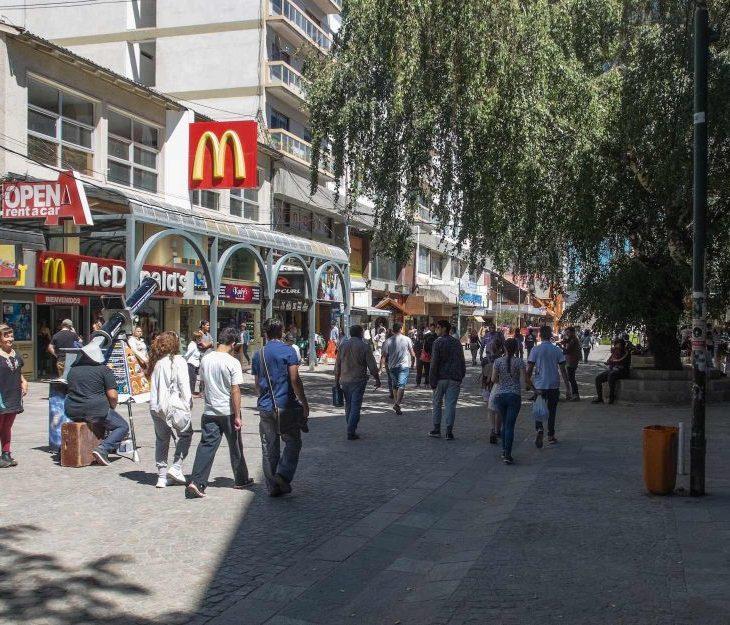 Coca-cola - Big Mac - preços em Bariloche