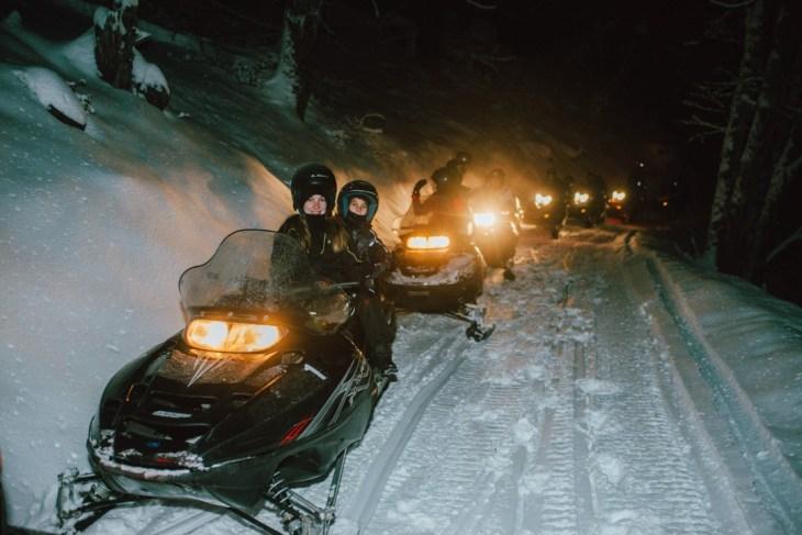 Snowmobile Arelauquen