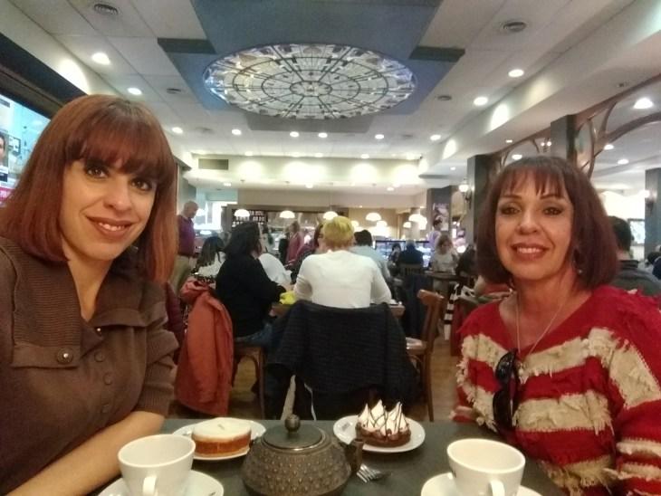 chá da tarde em Bariloche