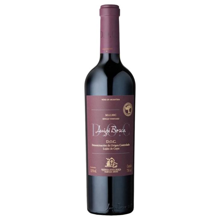 Vinho argentino Malbec Luigi Bosca DOC