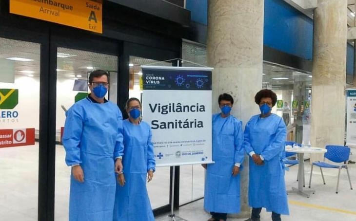 controle do covid-19 em aeroportos e protocolos de segurança e sanitários