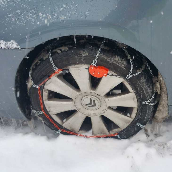 Correntes de neve para pneus