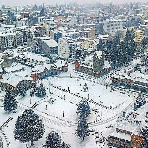 Quando tem neve em Bariloche