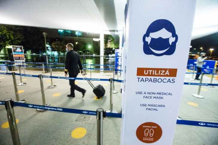 reabertura do turismo na Argentina