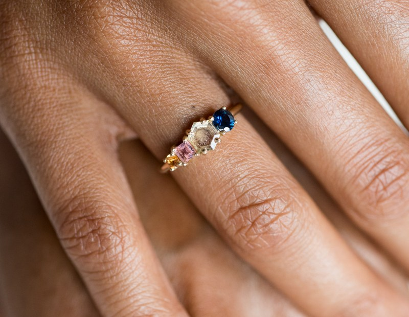 Re-think pink with ethical tourmaline