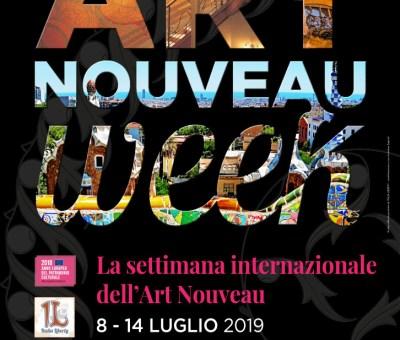 Lo stile Liberty a Bari nell'Art Nouveau week