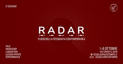 Radar, flussi della fotografia contemporanea