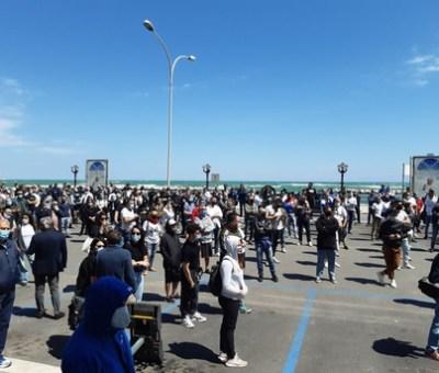 Bari: protesta dei ristoratori e dei gestori di B&B